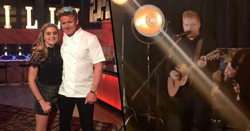 Gordon Ramsay Pays Ed Sheeran $650,000 to Play Daughter's 18th Birthday