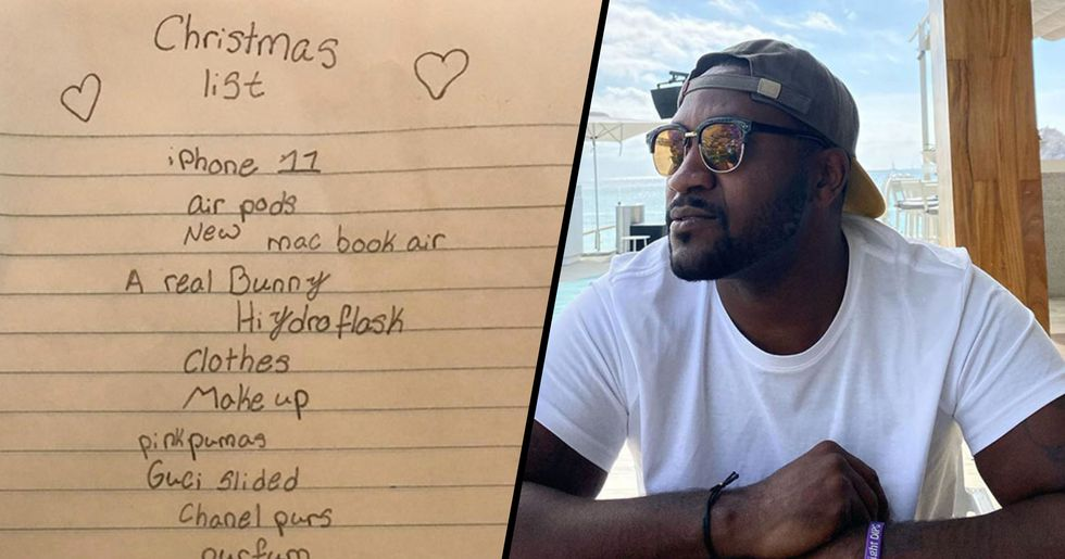 People Are Cracking up After This Dad Shared His 10-Year-Old's Christmas Wish List