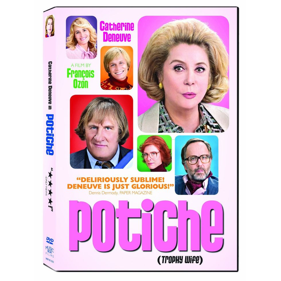 Delirously Sublime Potiche On Blu-ray & DVD