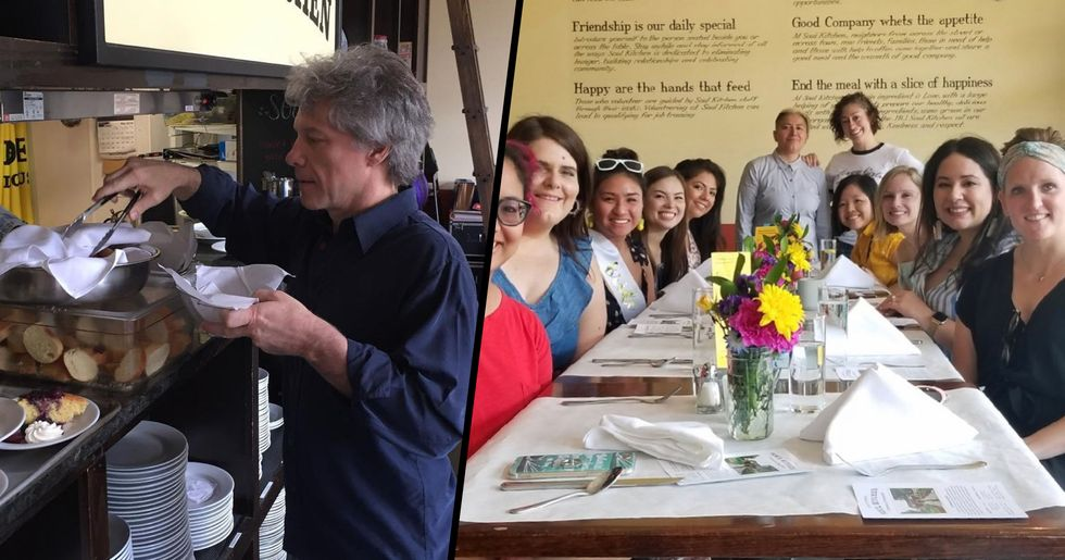Jon Bon Jovi Opens Charity Restaurants so People in Need Can Eat Without Paying