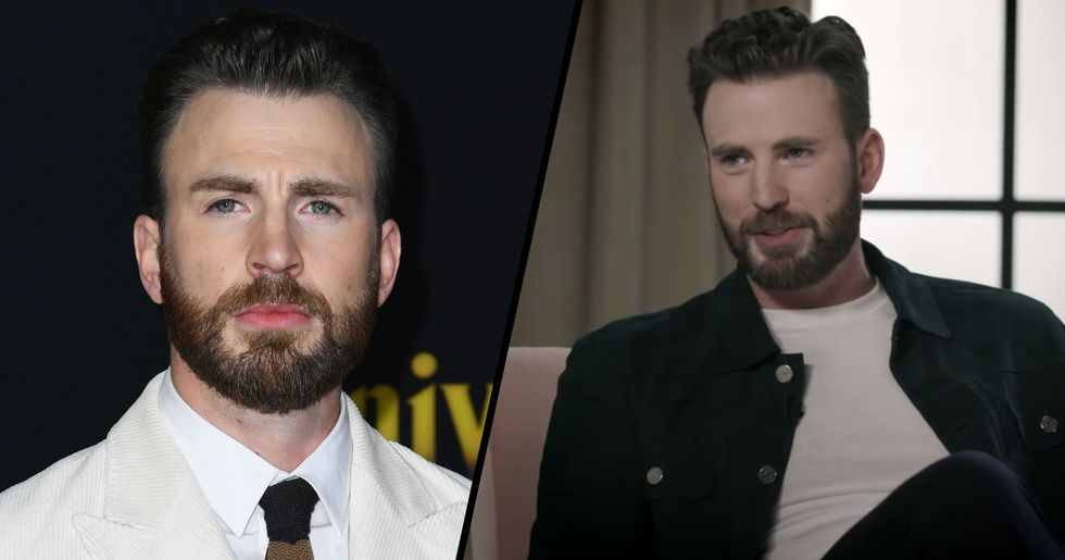 Chris Evans Hints That He's Ready to Be a Father