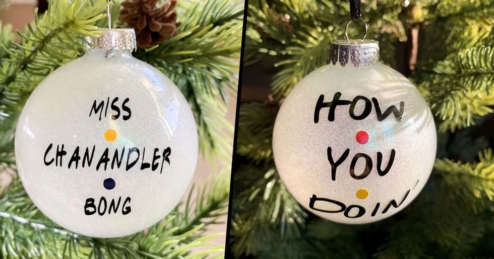 Christmas Ornaments With Iconic Friends Quotes on Them Now Exist and We Want All of Them