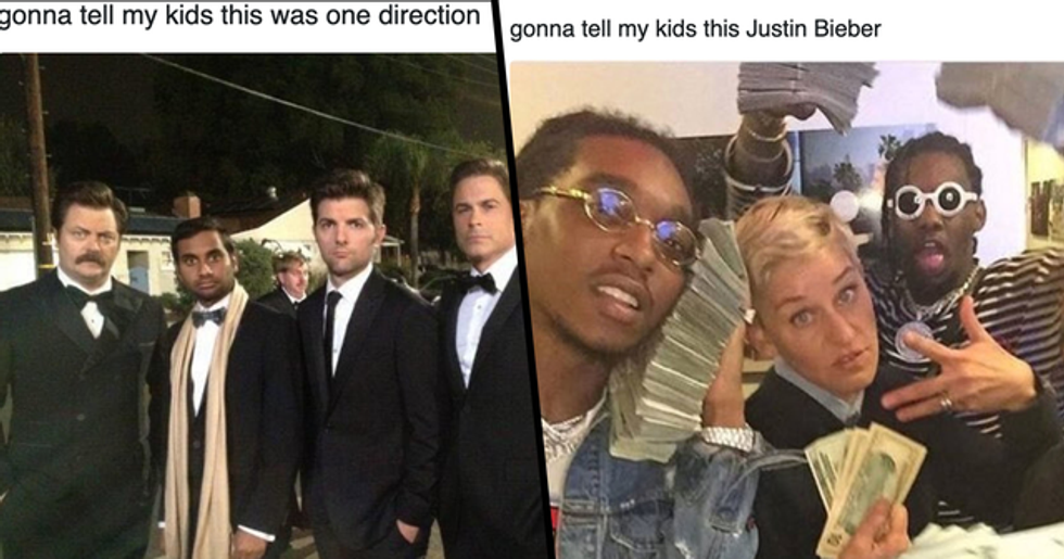The Best 'Gonna Tell My Kids' Memes That Are So Good We're Actually Gonna Tell Our Kids This