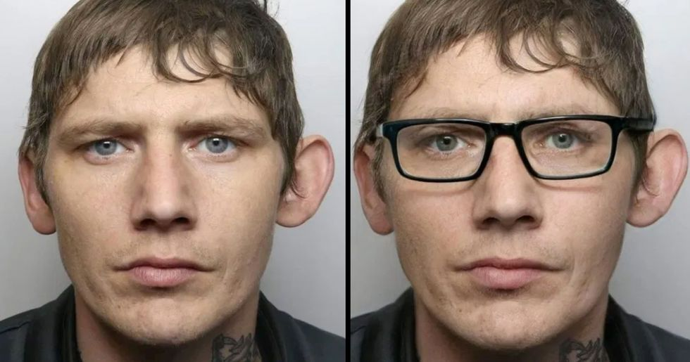 Man Caught by Police Despite His Disguise