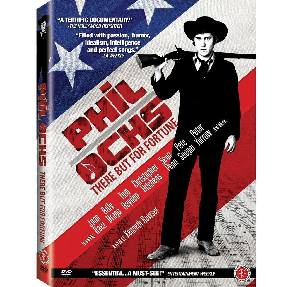 Enthralling Phil Ochs: There But For Fortune On DVD