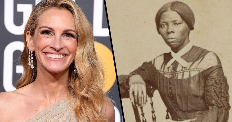 Julia Roberts Should've Played Harriet Tubman According to Studio Exec