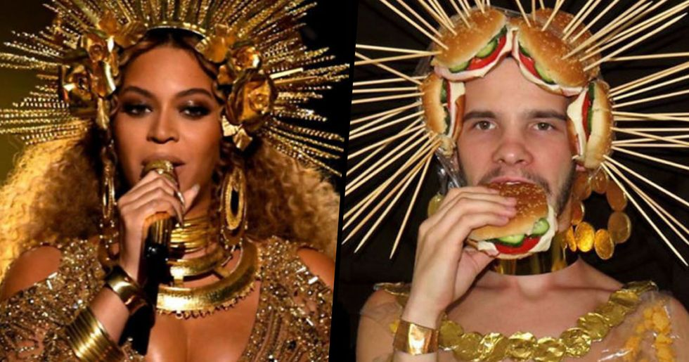This Guy Recreates Celebrity Outfits on a Low Budget and the End Results Are Incredible
