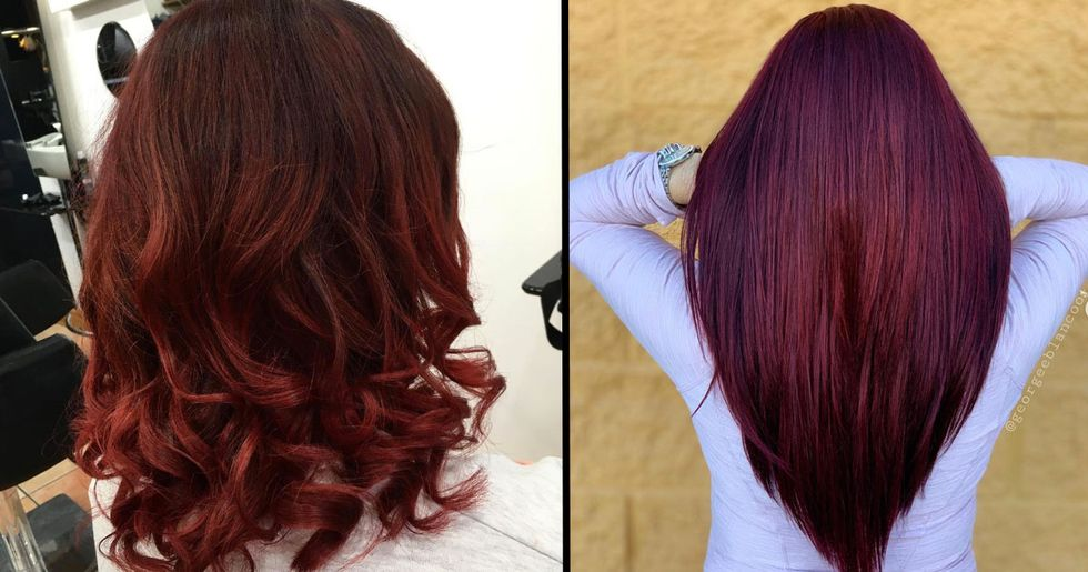 Mulled Wine Hair Is Latest Trend That's Here Just in Time for Christmas
