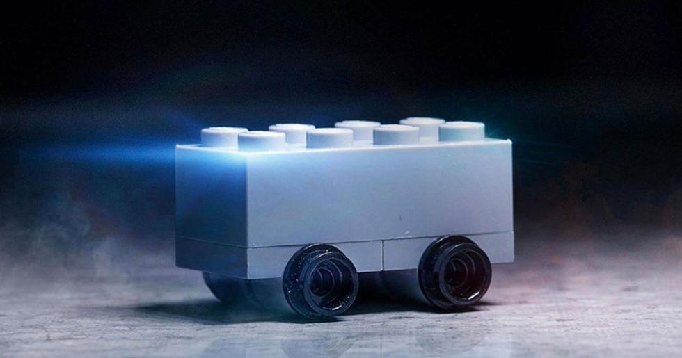Lego Trolls Tesla With Its Own 'Shatterproof' Truck