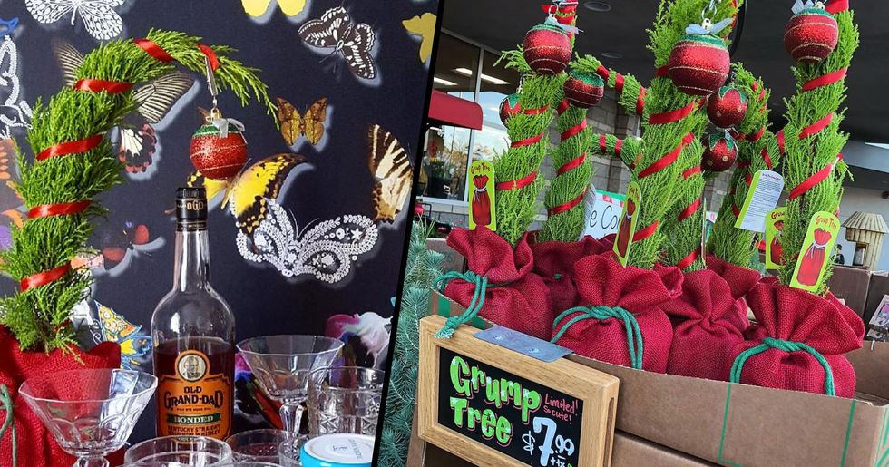 Trader Joe's Is Selling 'Grump' Christmas Trees to Cheer up All the Grinches out There