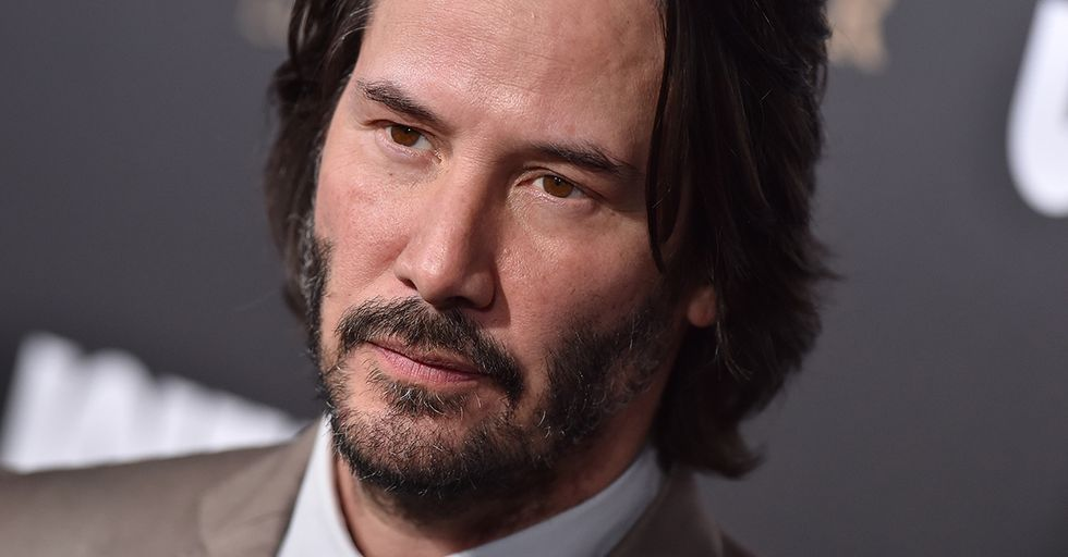 Just 40 Photos of Keanu Reeves Being the Internet's Favorite Celebrity