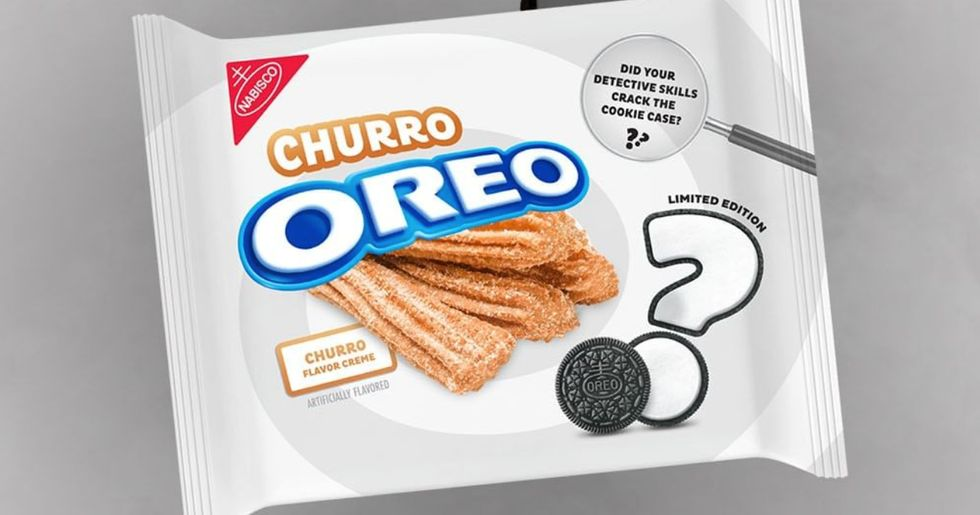 Churro-Flavored Oreos Now Exist and We're Already Obsessed