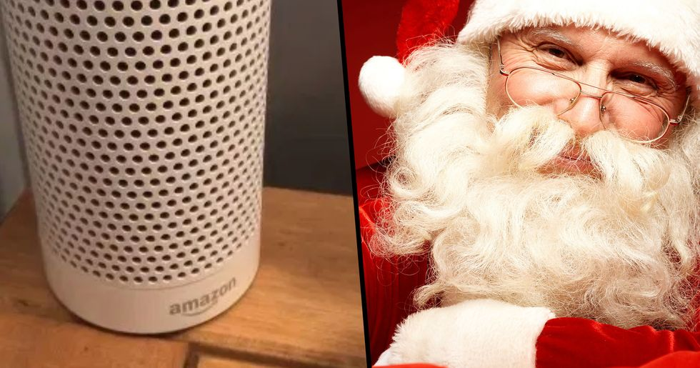 Kids Can Get a Personal Message From Santa by Talking to Alexa