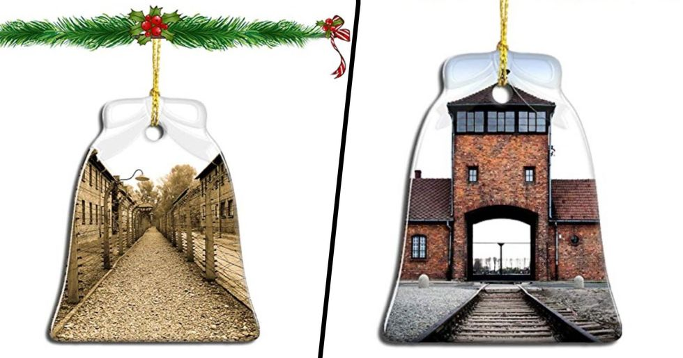 Amazon Under Fire For Selling 'Auschwitz Christmas Ornaments'