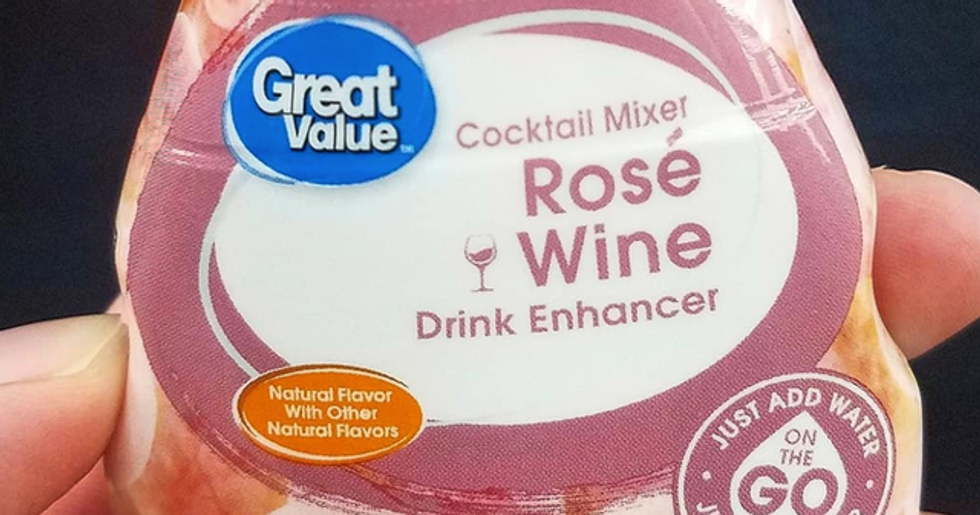 You Can Now Buy a Rosé Wine Drink Enhancer to Make Your Water Taste Like Wine