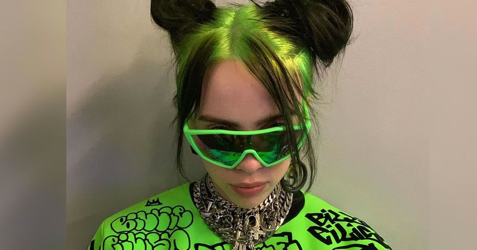 Billie Eilish Dyed Her Hair Brown and She Looks Totally Different