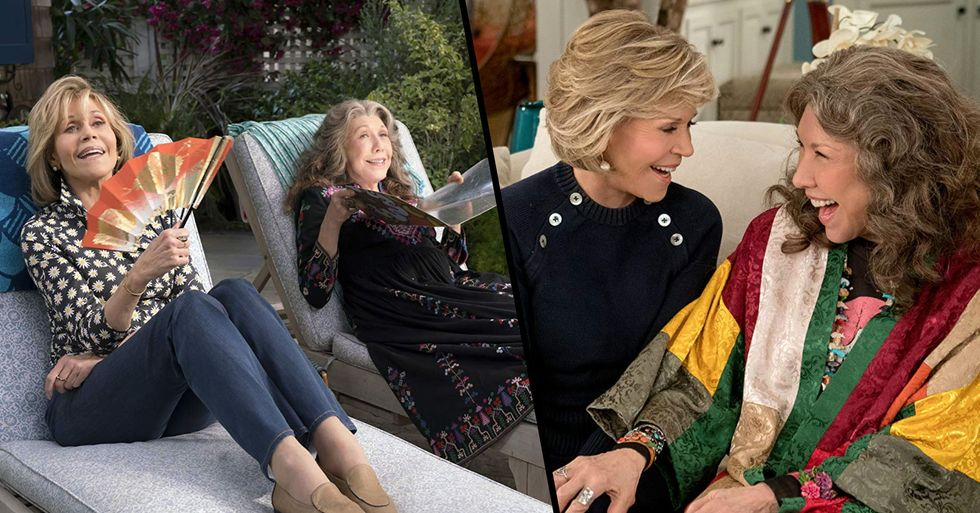 'Grace and Frankie' Will Return to Netflix in January