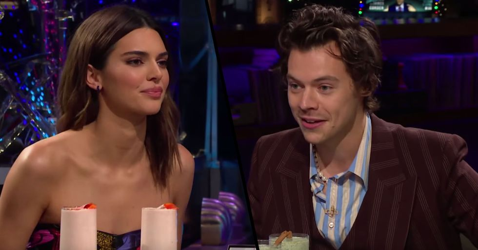 Kendall Jenner Savagely Tells Harry Styles That Kourtney Is the 'Worst' Mom of All Her Sisters