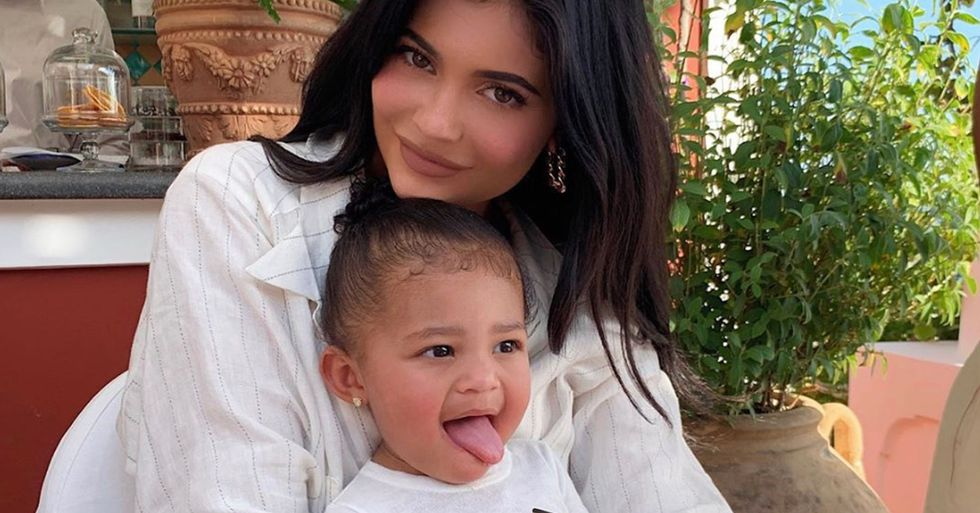 Kylie Jenner's Daughter Stormi Is the Spitting Image of Her in Side-By-Side Shots of Them as Kids