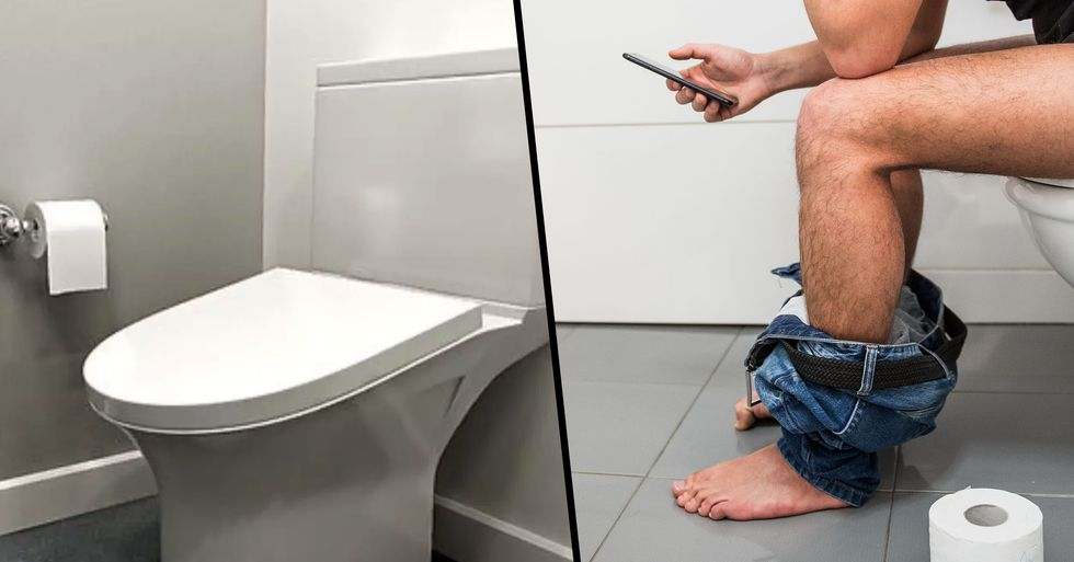 New Toilets Are Designed to Force People to Spend Less Time in the Restroom