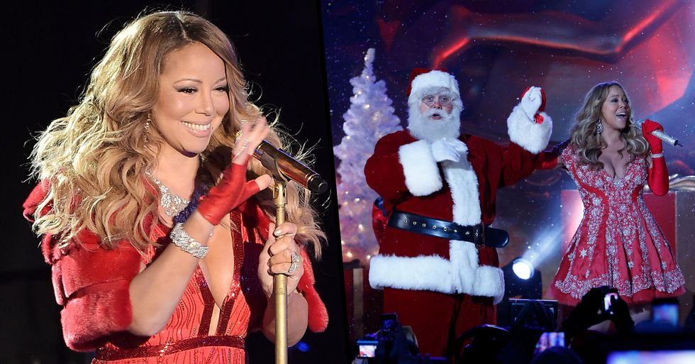 Mariah Carey's 'All I Want for Christmas Is You' Hits No. 1 for the First Time