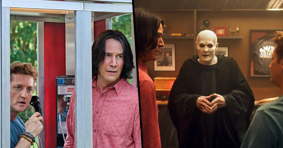 We've Finally Been Given a First Look at Keanu Reeves and Alex Winter in 'Bill & Ted Face the Music'