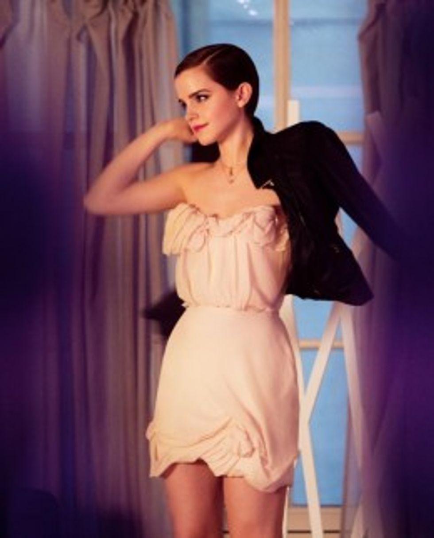 Emma Watson's Pretty-Pretty in Her New Lancome Campaign in Today's Style Scraps