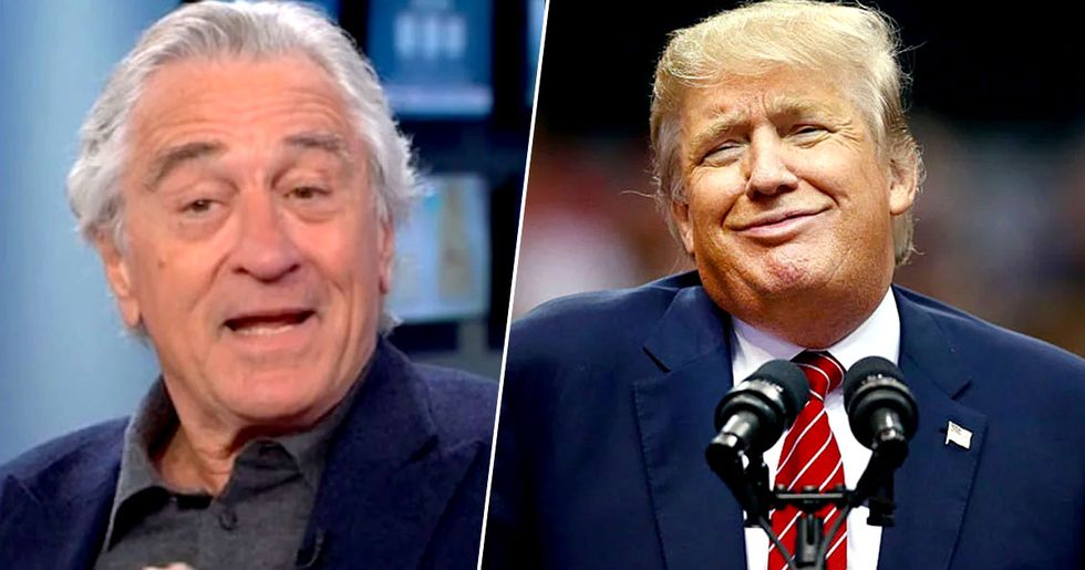 Robert De Niro Fantasizes About Hitting Donald Trump in the Face with 'Bag of Sh*T'