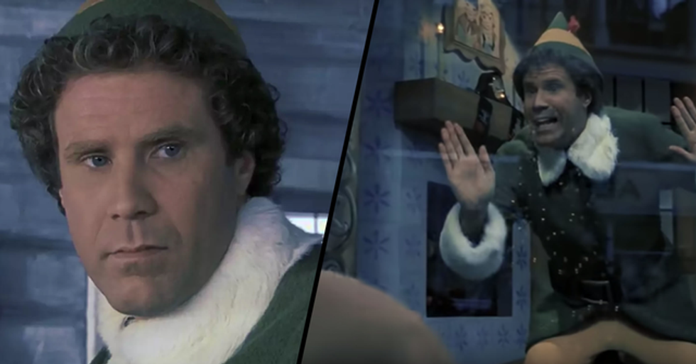 Someone Re-Cut the 'Elf' Trailer Into a Thriller and It's Both Hilarious and Scary