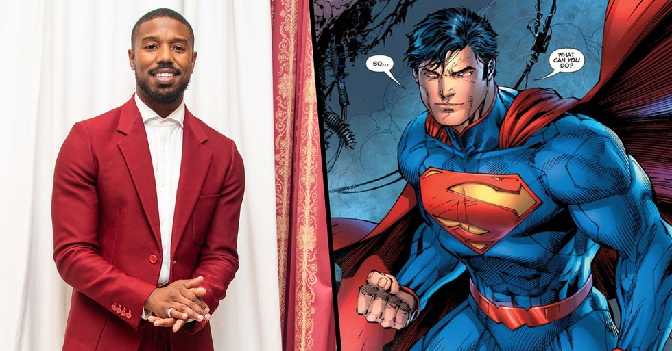 Michael B. Jordan Says If He Played Superman It Would Be Authentic to Comics