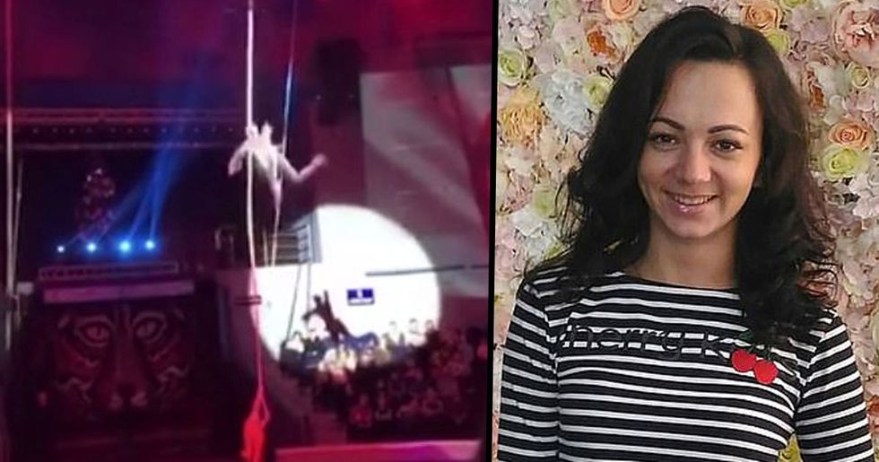Acrobat Fighting for Her Life After Horror 20ft Fall