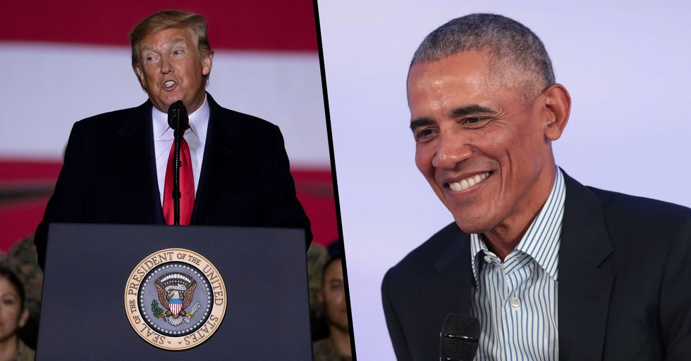 Barack Obama and Donald Trump Tie as 'Most Admired Man' of 2019