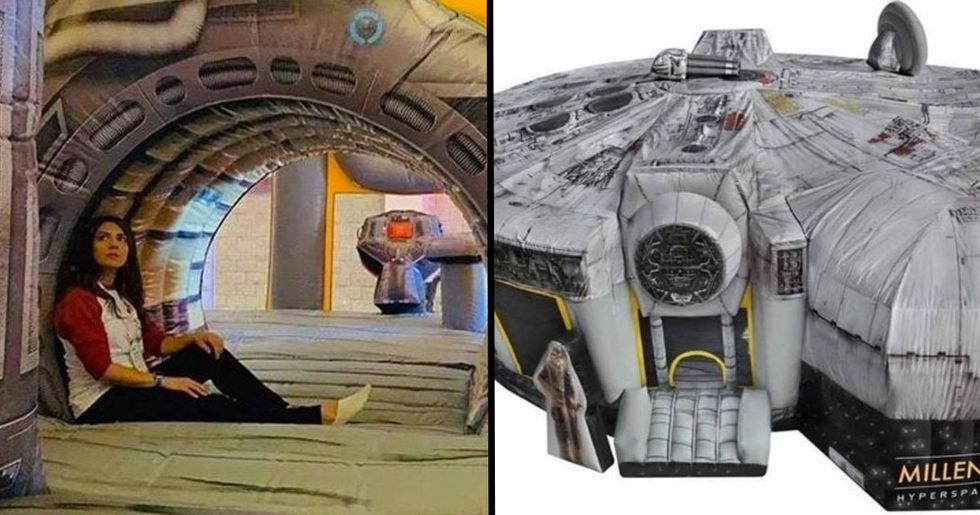 'Life-Size' Inflatable Millennium Falcon On Sale for $10,000