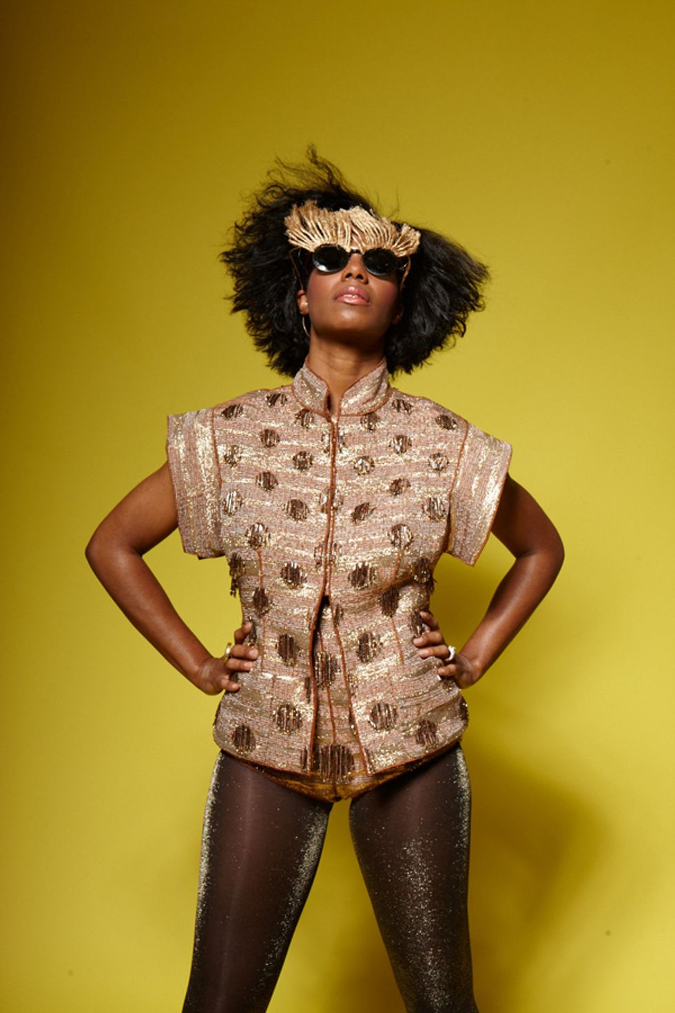 More From PAPER's Summer Music Issue Cover Shoot with Santigold
