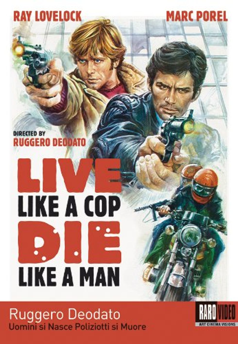 Violent And Crazy Live Like A Cop Die Like A Man On DVD