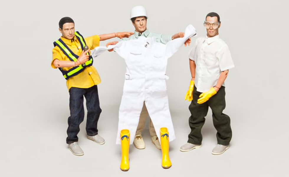 Get Your Beastie Boys Action Figures and Fight Childhood Cancer