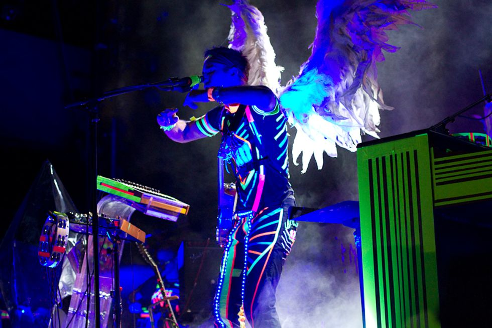 "Sufjan Stevens Shows Off His Boo-nanas New ""Outer Space Aesthetic"" at Prospect Park"