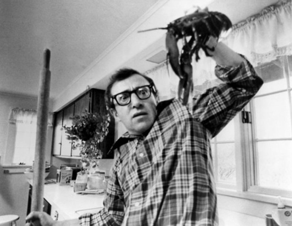 What Is It Your Business That There's a Woody Allen Impression Contest at Coney Island Monday Night?