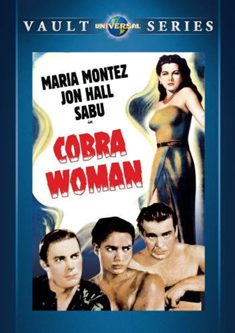 Camp Classic Cobra Woman On Universal DVD
