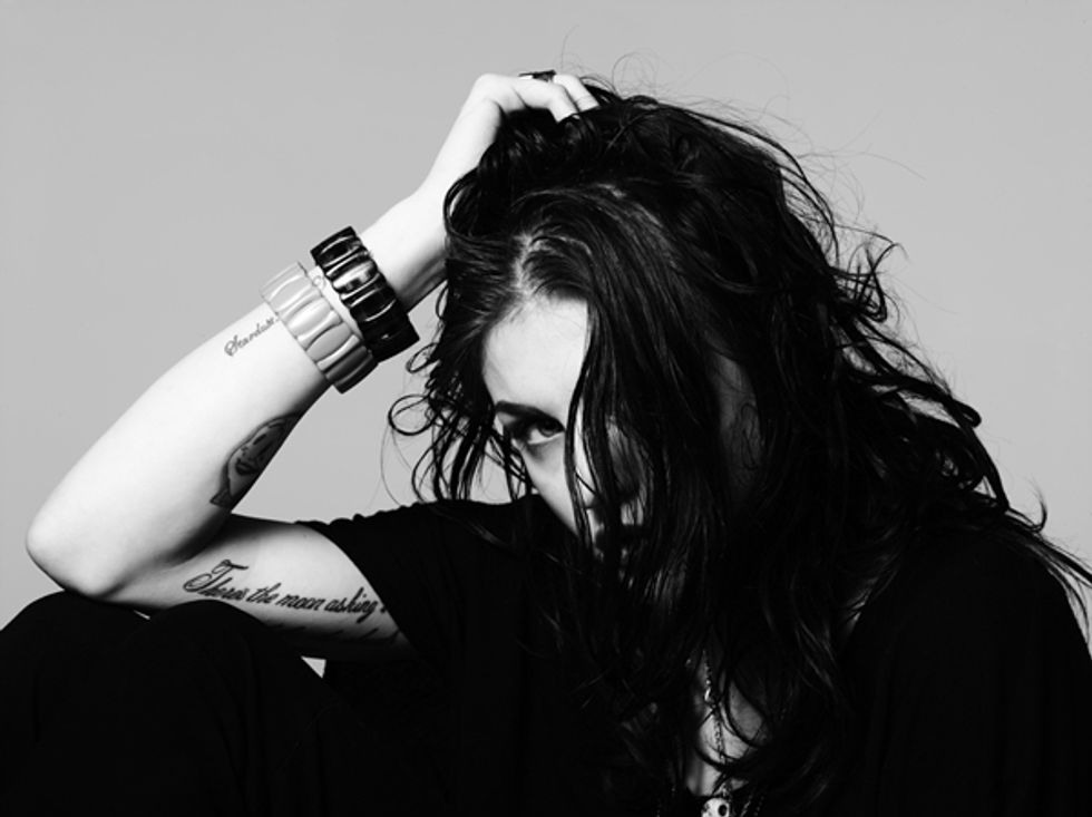 You Are Old: Frances Bean Cobain Photographed By Hedi Slimane