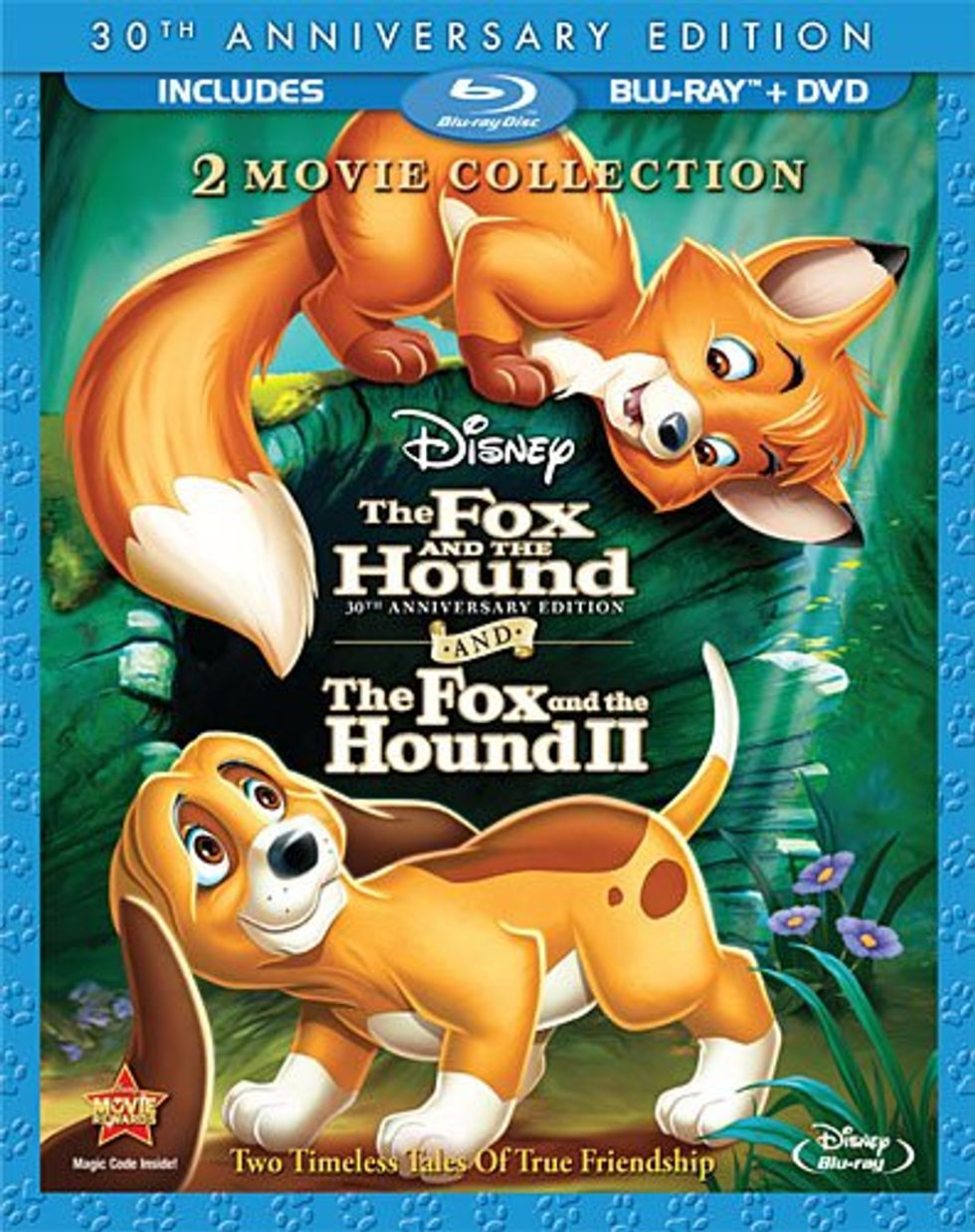 Disney's Sweet The Fox and the Hound On Blu-ray