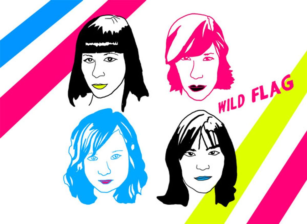 Janet Weiss and Mary Timony On Wild Flag and Being Rock 'n' Roll Animals