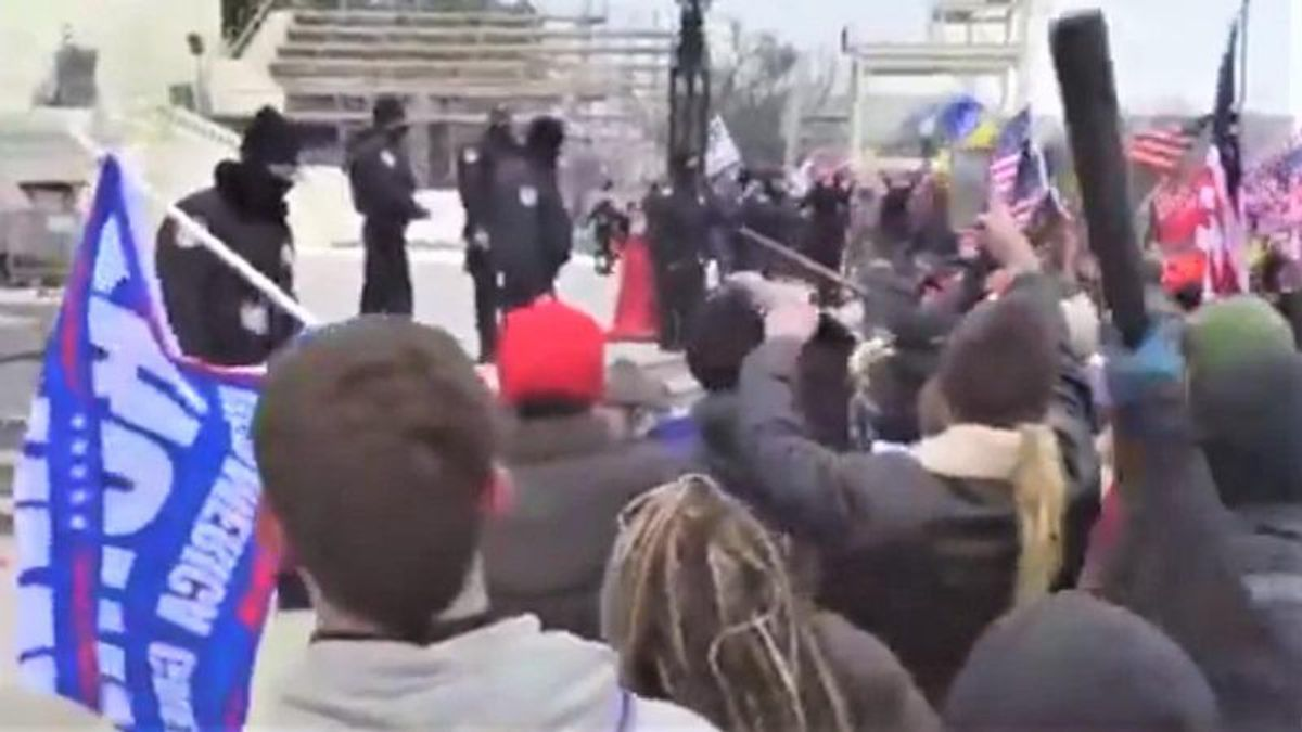 Violence erupts in DC as Trump supporters attempt to storm the Capitol building