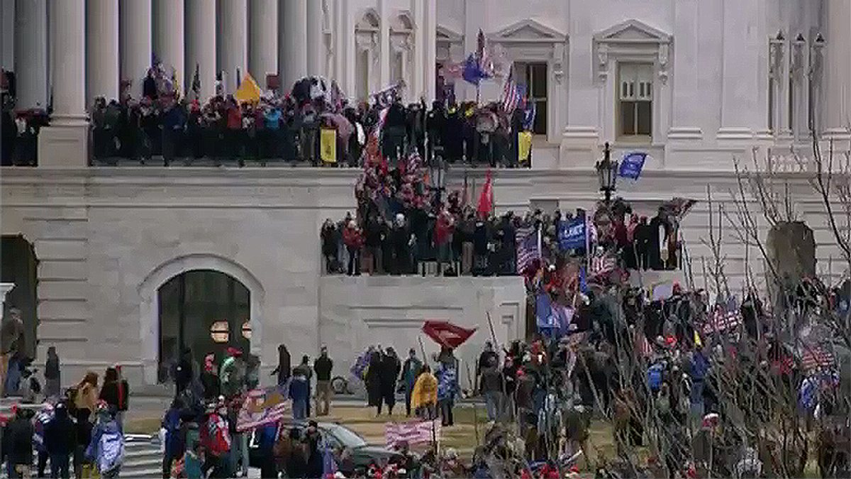 Expert explains symbols of 'extreme anti-semitism' present during Trump supporters' Capitol riot