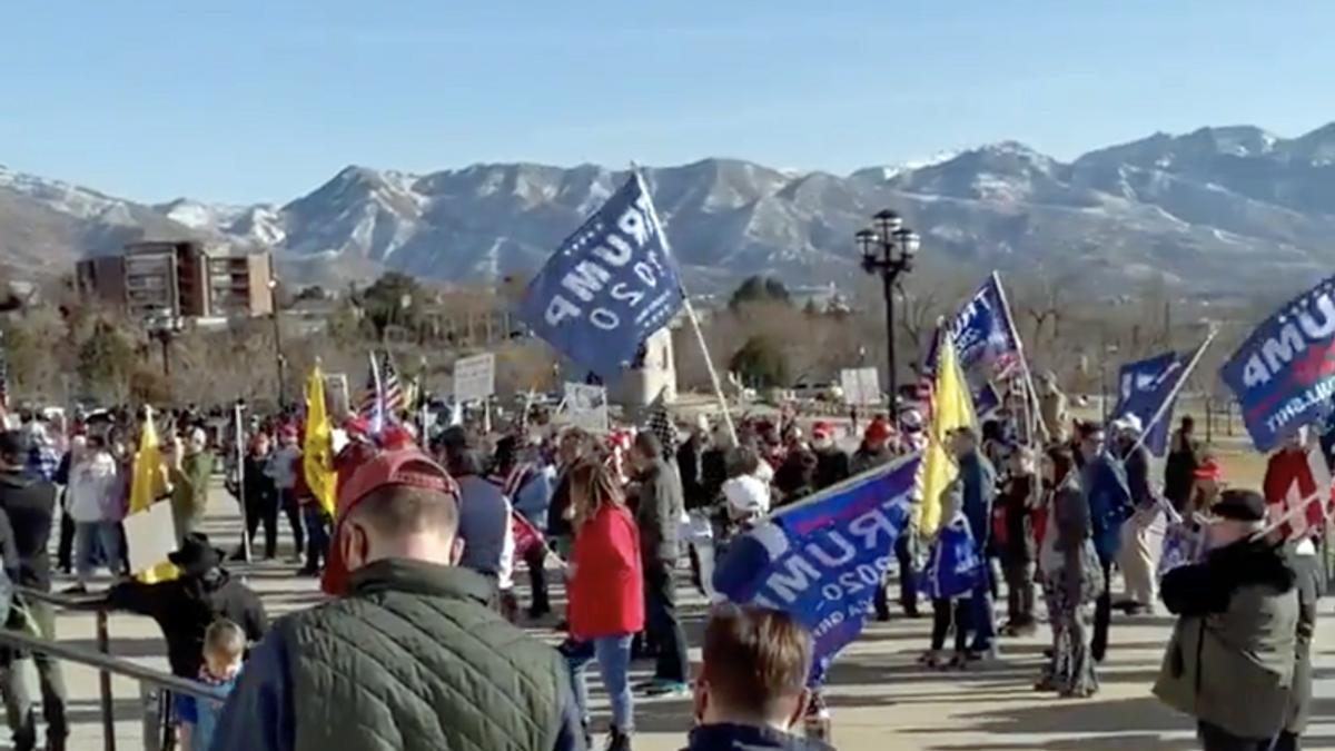 Utah Capitol staff evacuated as Trump supporters wreak havoc at protests across America: report