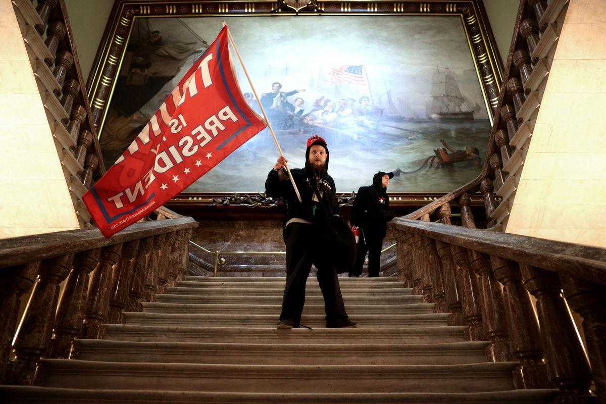 Violent Trump Supporters Storm the U.S. Capitol