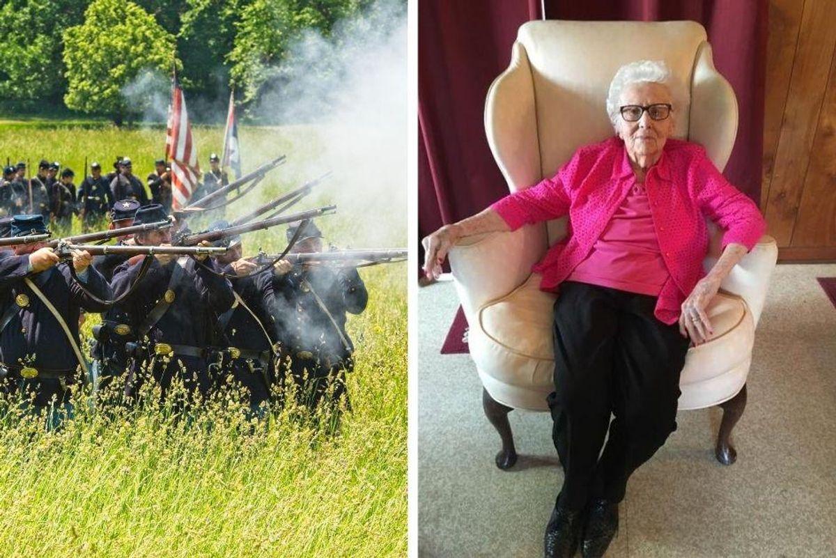 The last living spouse of a Civil War veteran has died