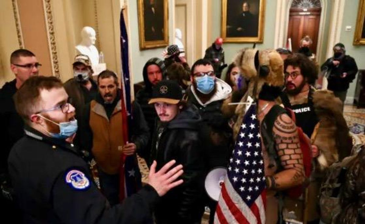Police and military confront the enemy within after Capitol riot exposes extremists in their ranks