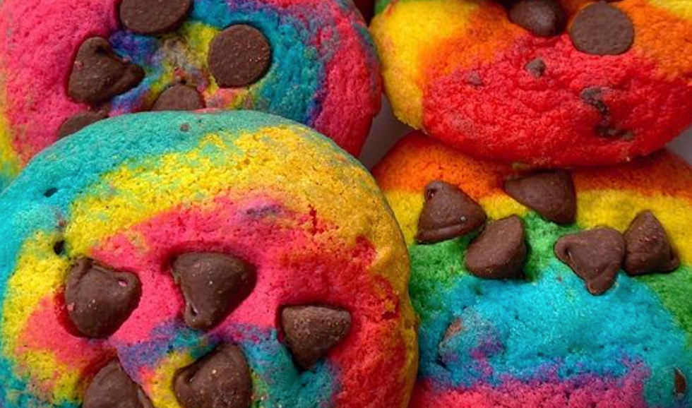 "Baked In Color: ""The Happiest Cookies On Earth"""