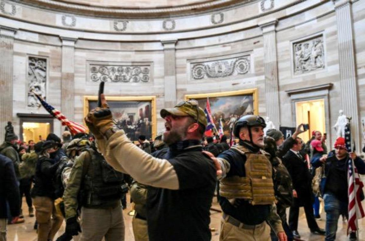 Capitol Police warned of attack on Congress: 12-page report came out 3 days before the riots